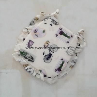 cuscini per sedie sagomati con volant violet lavander archivi