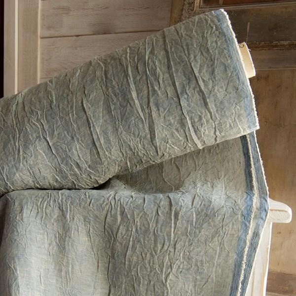 Tessuto per tende in lino stropicciato casseri biancheria for Tende tessuti
