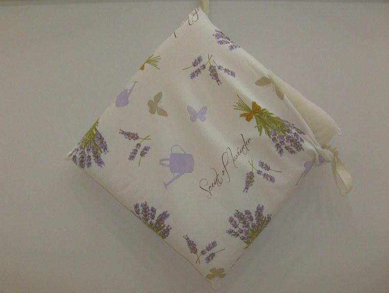 Cuscini con zip lavanda - CASSERI BIANCHERIA