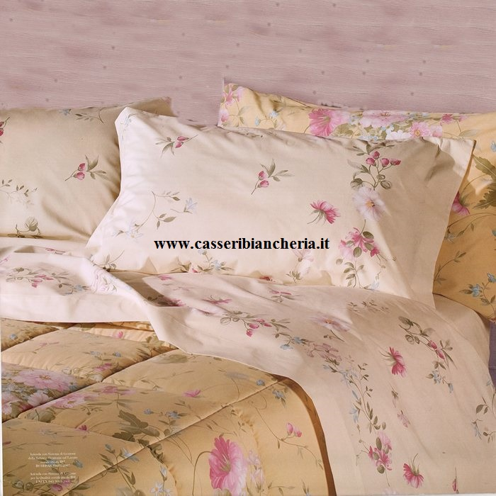 e8b157b842 Lenzuola matrimoniali Caleffi floral - CASSERI BIANCHERIA