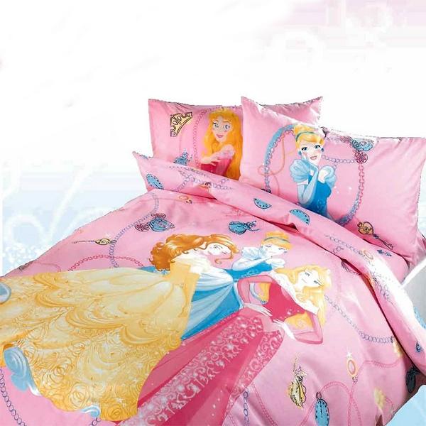 Completo Copripiumino Caleffi Disney.Copripiumino Princess Gioielli Singolo Caleffi Stampa Digitale
