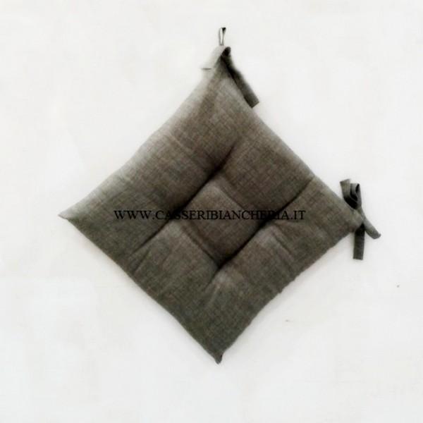 Top Cuscini per sedie edgar tortora - CASSERI BIANCHERIA YF89