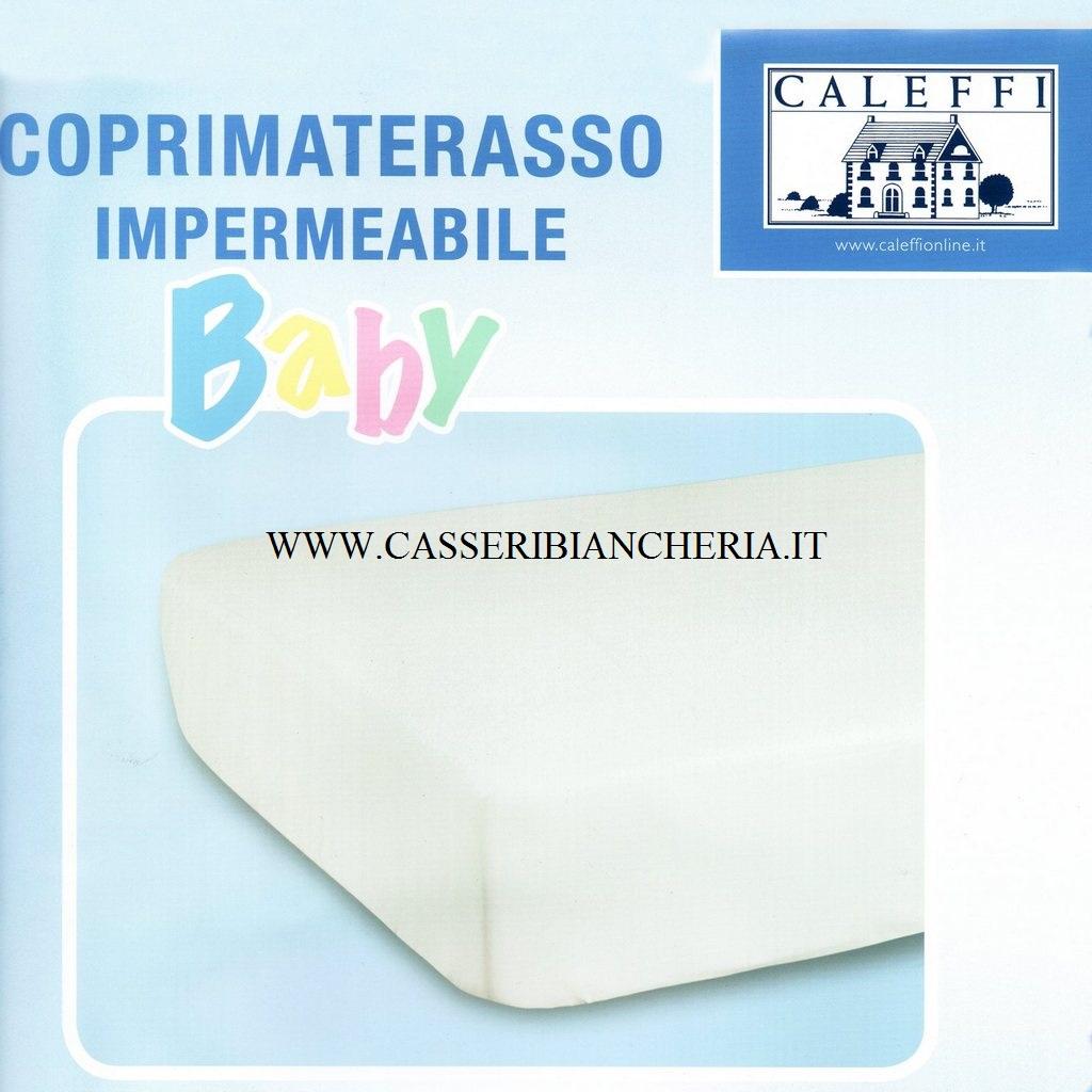 Coprimaterasso impermeabile per lettino Cuscino Bimbi Made in Italy guanciale