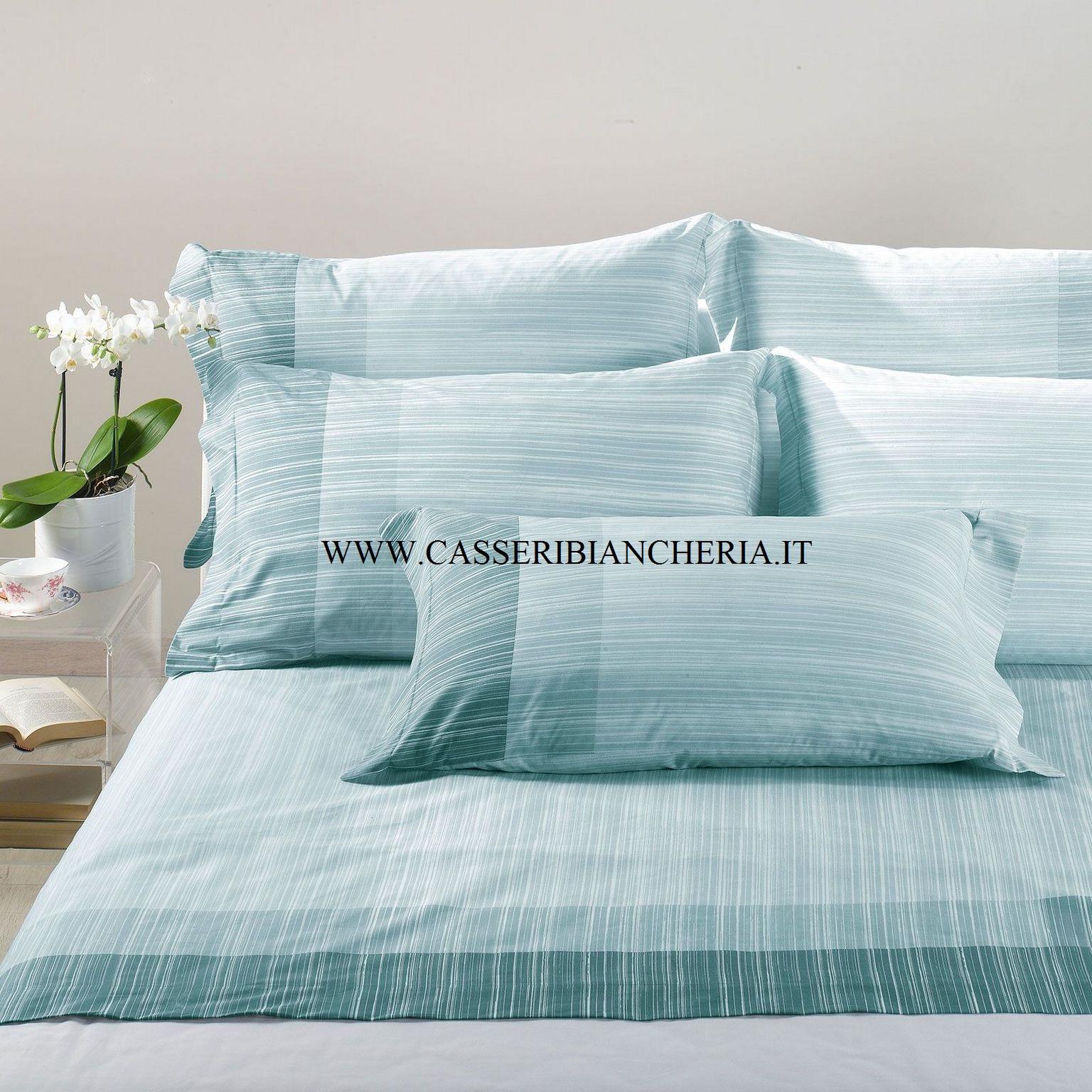 Completo lenzuola letto 1 piazza singolo nordic caleffi cotone casseri biancheria - Completo lenzuola letto singolo ...