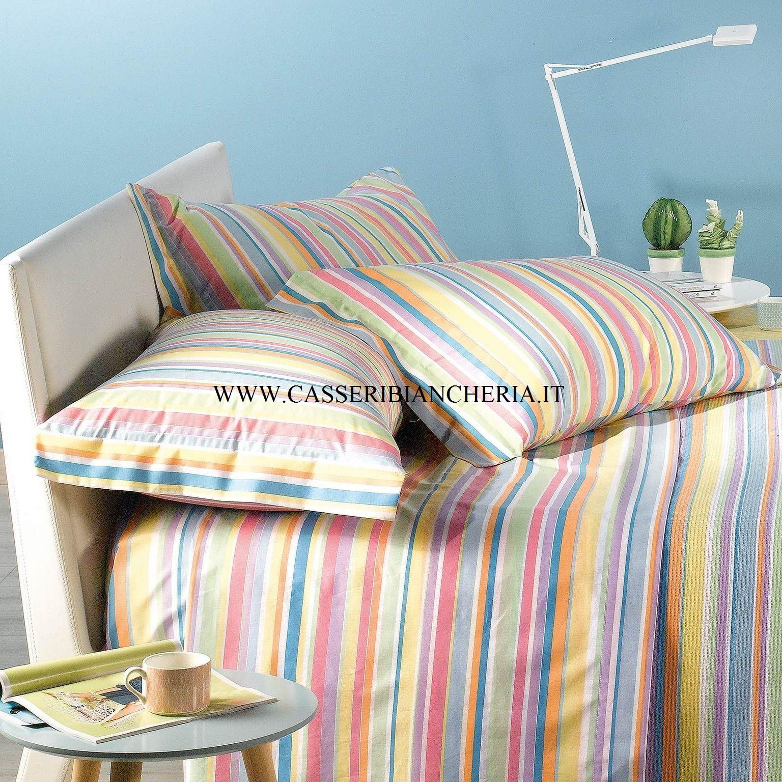 Completo lenzuola singolo caleffi palm beach fuxia casseri biancheria - Completo lenzuola letto singolo ...
