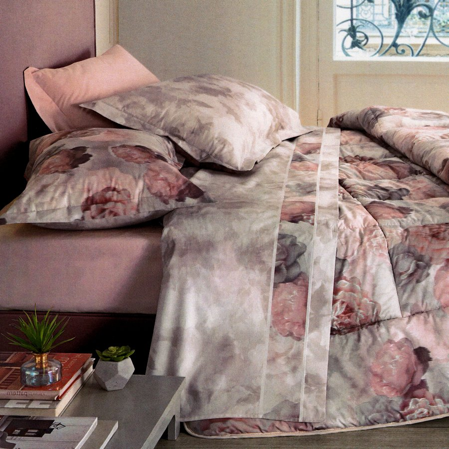 Lenzuola Matrimoniali Design.Lenzuola Matrimoniali Somma Bouquet Roseto Casseri Biancheria