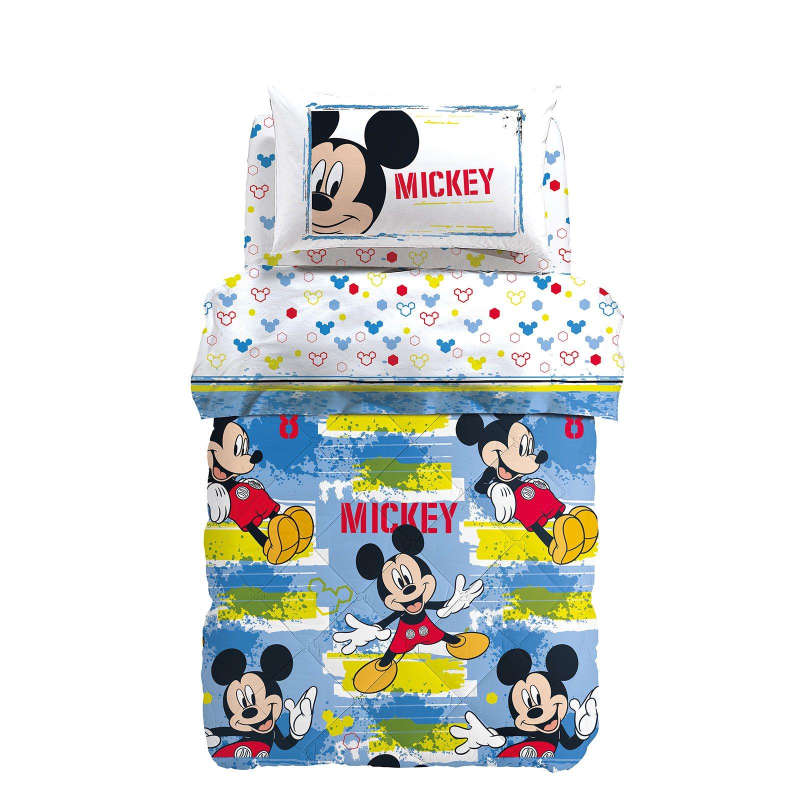 Trapunta Singola Caleffi Disney.Trapunta Singola Caleffi Disney Mickey Avventura Casseri Biancheria